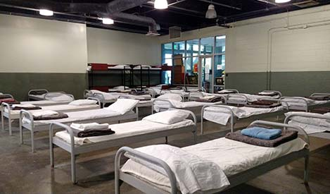 a group of ready to use cots